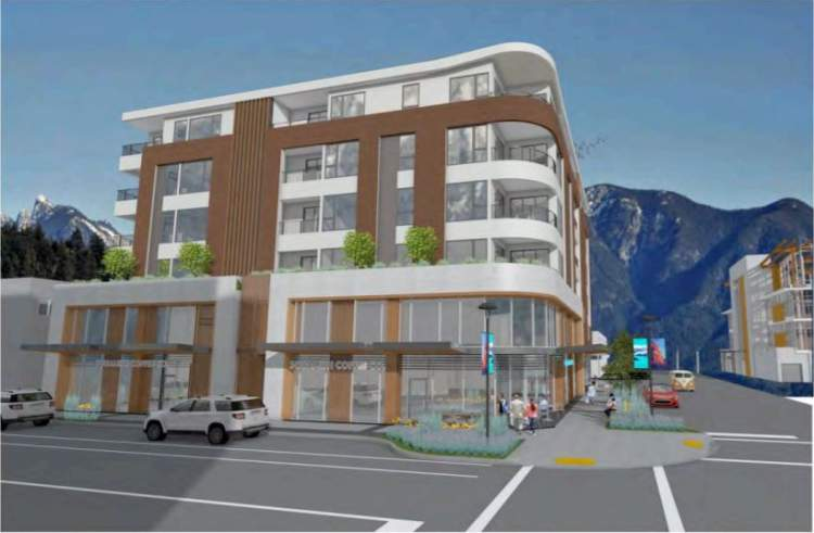 Milagro includes three ground floor commercial retail units.