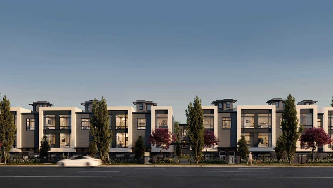 A collection of 36 cityhomes coming soon to Vancouver's West Side.