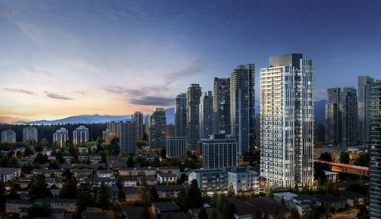 1-, 2-, and 3-bedroom homes coming soon to Burnaby Metrotown.
