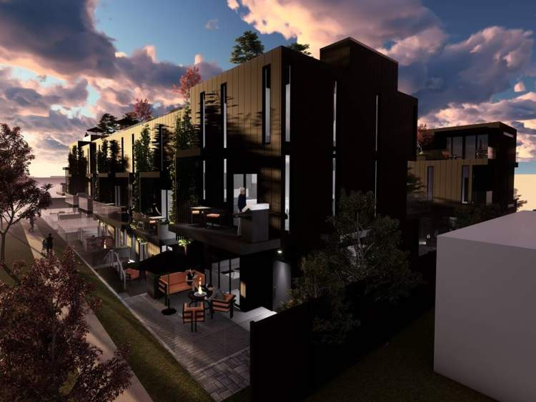 A boutique collection of 1-, 2-, and 3-bedroom stacked townhomes on Vancouver's West Side.
