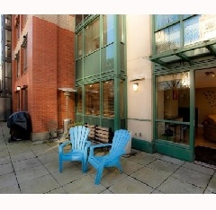 Views of Water and David Lam Park 2 Bedroom Condo with Private Garden Terrace and First Rate Amenities.
